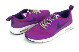 Air Max Thea Size Chart Nike Air Max Thea Hypr Violet Crt Prpl Wht Big Kids Sneakers