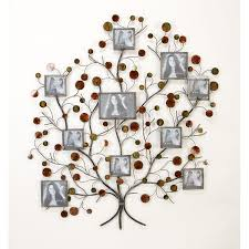 on tree photo collage wall art with budding tree photo collage floral metal wall art