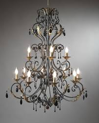 full size of living outstanding wrought iron chandelier with crystals 10 wrought iron chandelier with crystals large