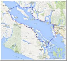 using bc ferries to enhance your bicycle touring cyclotouringbc Bc Ferries Map this tour starts out on southern vancouver island at the swartz bay bc ferries terminal, but it can be started just as easily from an area in greater bc ferry map