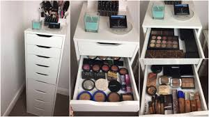 makeup collection declutter 2017 eyeshadow palettes foundation more