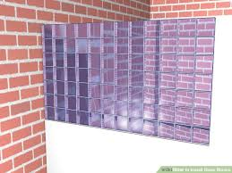 image titled install glass blocks step 9