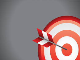 Archery On Target Powerpoint Templates 3d Graphics Black
