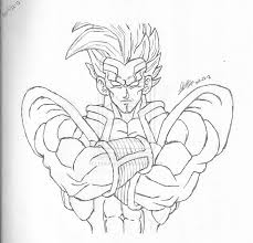 Dragon Ball Gt Baby Vs Goku Ssj3 Drawings