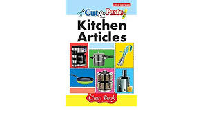 Kitchen Articles Chart Cut Paste Kitchen Articles Chart Book Amazon In