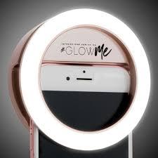 Selfie Ring Light For Makeup Glowme Usb Led Selfie Ring Light Rose Gold 02 Led Selfie