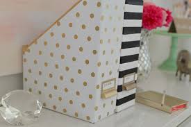 Cute Magazine Holder Kate Spade Inspired Magazine Holders Magazine holders Park and 2