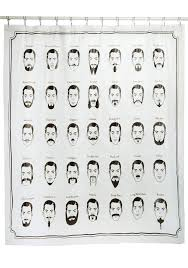 fun shower curtains for adults. Just Face It Shower Curtain, $24.99 Fun Curtains For Adults