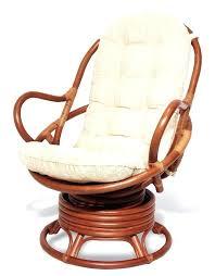pier one round chair cushion java handmade design rattan wicker swivel rocking chair with thick cushion tropical pier 1 round chair cushion