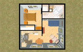 400 sq ft home plans floor small house post