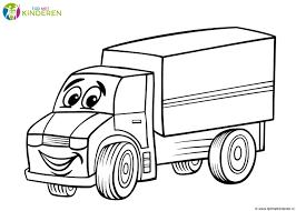 Niewu Kleurplaat Vrachtwagen Met Oplegger Kleurplaat 2019