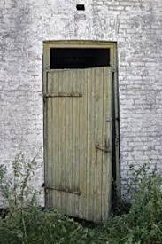wooden door open free photo