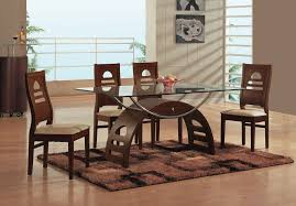 magnificent glass topped dining table and chairs dining room great glass top dining table set wood