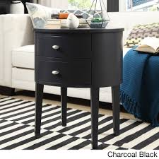 Aldine 2-drawer Oval Wood Accent Table by iNSPIRE Q Bold - Free Shipping  Today - Overstock.com - 15561042