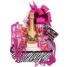 lucky in love bachelorette gift basket