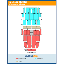 Arvest Midland Seating Chart Arvest Bank Theatre At The Midland Events And Concerts In