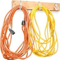 Extension Cord Storage, free woodworking plans projects patterns wall  mounted