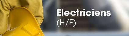 نتيجة بحث الصور عن offre emploi des électriciens