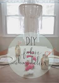 yesterday for the diy challenge i posted my very first diy project which was a fabric chandelier i promised i d leave the link to the original poster with
