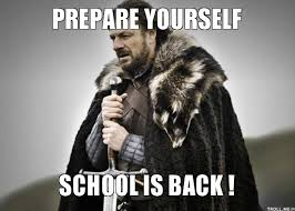 Image result for back to school meme