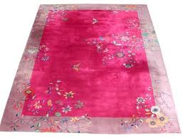 fabulous chinese art deco rug with erfly fl pattern