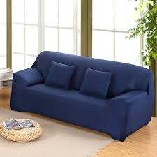 dark blue couch. Blue Sofa Cover 4 Size 5 Color Spandex Stretch Elasticity Polyester Solid Colors Couch . Dark