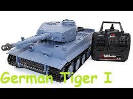 Танк <b>Heng Long</b> German Tiger I 1:16 | Распаковка и запуск ...