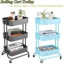 office trolley cart. Image Is Loading Rolling-Storage-Kitchen-Home-Office-Trolley-Cart-Fruit- Office Trolley Cart C