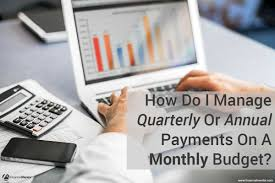 Annual Payment Calculator Budget Calculator Converts Irregular Payments To Monthly 18