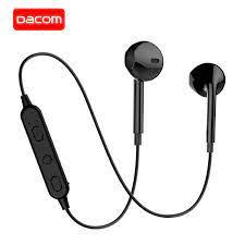DACOM G03T Bluetooth V5.0 Tai Nghe Không Dây Cài Microphone Stereo Tai Nghe  Bluetooth Thể Thao Dành Cho iPhone Samsung Bluetooth Earphones &  Headphones
