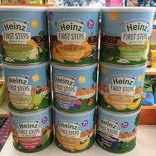 Siêu thị Mẹ và Bé Carrot - 217 Hoàng Diệu, ĐN - Bột ăn dặm Heinz hàng Nội  địa Anh ✓ Bảo quản tốt hơn hộp giấy nha các mẹ‼️ 👉🏻Bột ăn