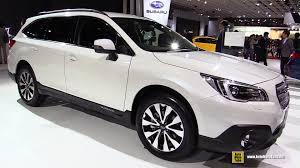 subaru outback 2016 white.  White 2016 Subaru Legacy Outback  Exterior And Interior Walkaround 2015 Tokyo  Motor Show YouTube In White B