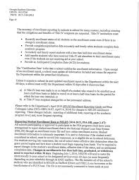Gs Faces Federal Department Of Education Review News