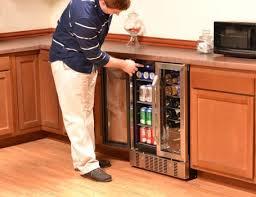 built in beverage cooler. Delighful Built NewAir AWB360DB Dual Zone 18 Bottle Wine U0026 52 Can Beverage Cooler11 And Built In Cooler A
