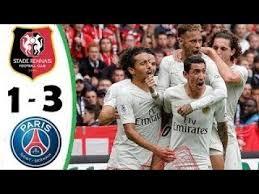 Rennes Vs PSG 4040 Résumé Buts 20408 YouTube Enchanting Marseille Rennes Resume