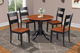 Brookline 5 Piece Small Kitchen Table And Chairs Set Blackcherry