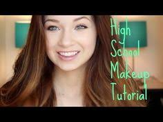 high makeup tutorial back to series