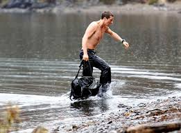 images of bear grylls military service