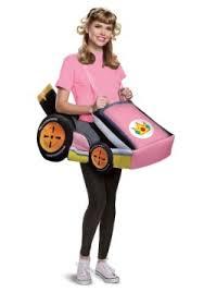 Elegant Super Mario Kart Womenu0027s Princess Peach Ride In