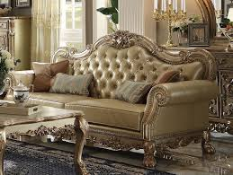 dresden wood trim gold patina leather