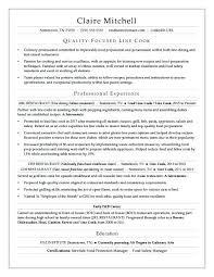 Job Description Line Cook Resumes Resume Skills No Experience Head ...