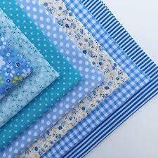7pcs Light Blue Quilting Patchwork Coton Fabric Special Fall ... & 2016-promotion-50x50cm-7pcs-cotton-fabric-light-blue- Adamdwight.com