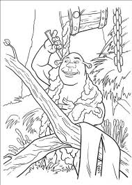 Small Picture Shrek Coloring Pages 10706