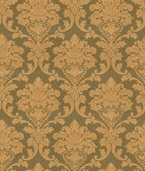 Gold Damask Background Uniwal Olive Green And Gold Damask Wallpaper Gca731
