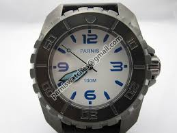 Parnis 45mm PVD white dial luminous Submariner Mod - Automatic ...