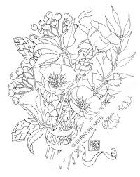 Poppy Love An Adult Coloring Page By Cynthia Emerlye Available As