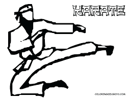 kids coloring page feat karate kid coloring pages page colouring for frame astonishing childrens coloring