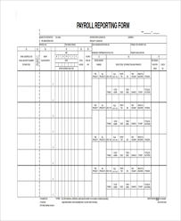 Certified Payroll Sample Forms 7 Free Documents In Word Pdf Excel