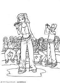 Small Picture Rock star coloring pages Hellokidscom