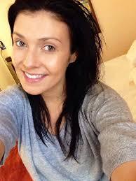 kym marsh united kingdom hair eyebrow human hair color hairstyle chin forehead cheek selfie black hair